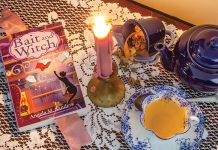 Angela M. Sanders Conjure an Alluring Mystery in Bait and Witch