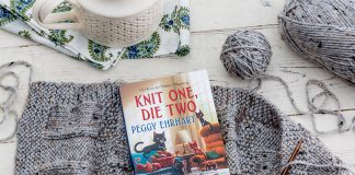 Mystery is Intertwined with Peggy Ehrhart's Knit One, Die Two