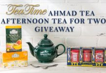 Ahmad Tea Afternoon Tea for Two Giveaway