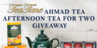 Ahmad Tea Afternoon Tea for Two Giveaway