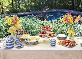 Outdoor Tea Party