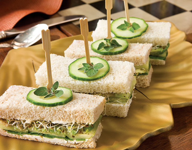Cucumber Avocado Tea Sandwiches Recipe Teatime