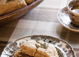 Parmesan-Rosemary Scones