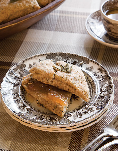 fall Parmesan-Rosemary Scones