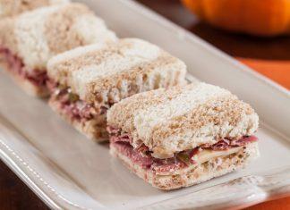 Pastrami Tea Sandwiches