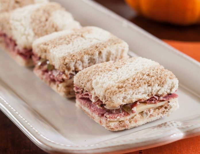 Pastrami Tea Sandwiches