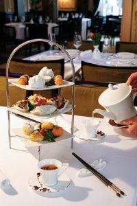 Tea at Grosvenor Hotel