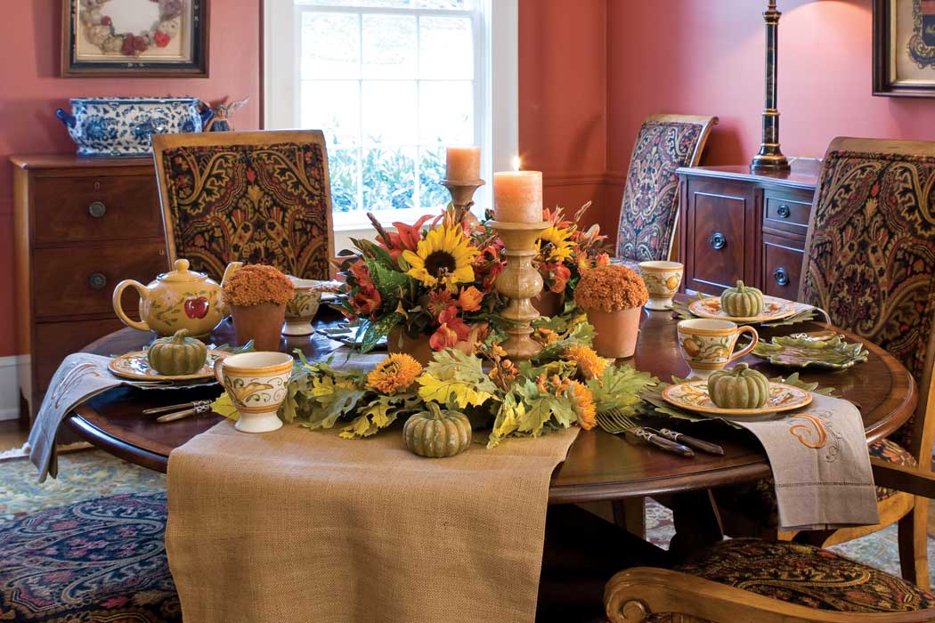 fall-inspired tablescapes - teatime magazine