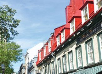 Quebec sidewalks