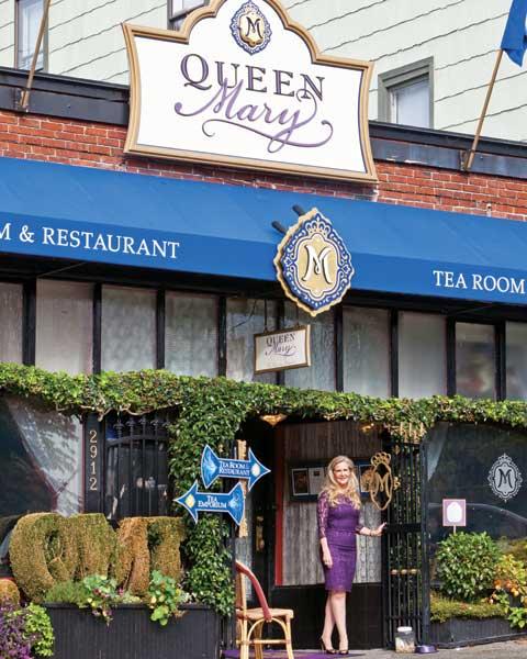 Queen Mary Tea Room Teatime Magazine