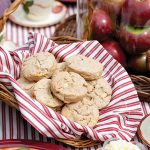 apple brie scones
