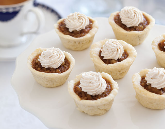 Cinnamon-Walnut Tartlets