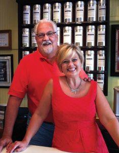 Tim Moore and Ellen Leaf-Moore
