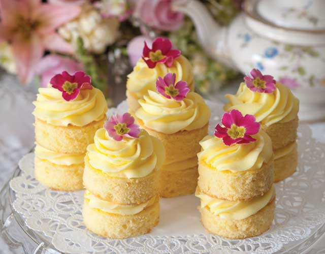 Mini Cake Recipes For Afternoon Tea