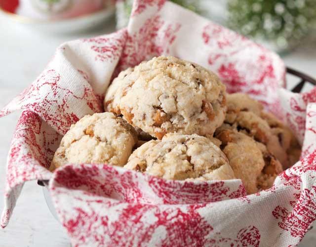 Gluten-Free Pecan-Butterscotch Scones - TeaTime Magazine