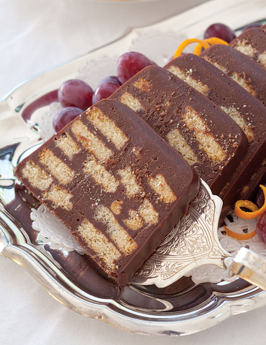 Chocolate Biscuit Cake - TeaTime Magazine
