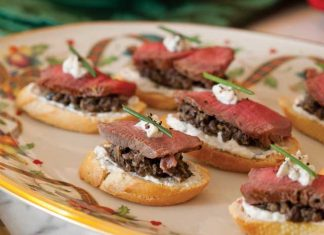 Beef Wellington Canapes