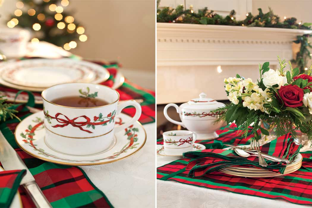 Christmas Tea Tablescapes For a Christmas Tea