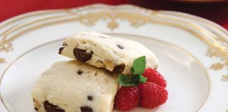 Chocolate-Hazelnut-Scones