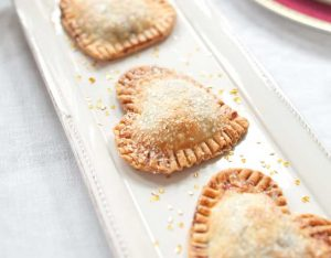 Baked Heart Tartlets