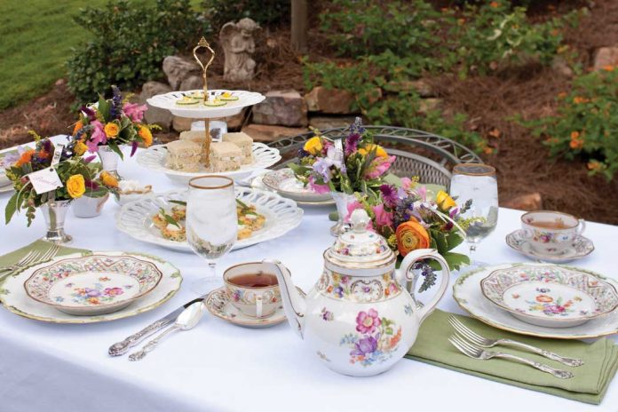 celebrating spring tablescapes - teatime magazine