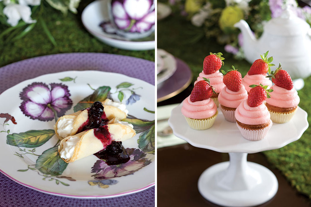 Our Favorite Easter Recipes CrepesStrawberryCupcakes