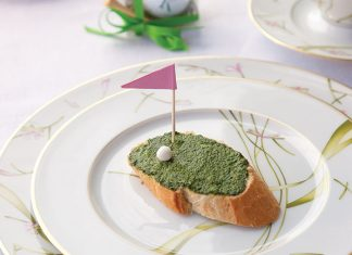 Greenie Open Face Sandwiches