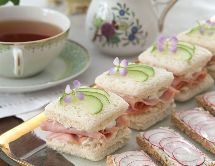 Ham, Pineapple, and Cucumber Sandwiches - TeaTime Magazine