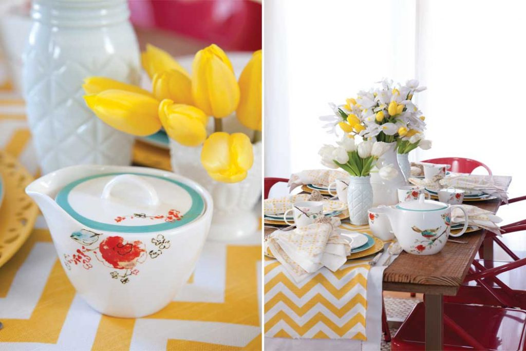 Whimsical Spring Tablescape