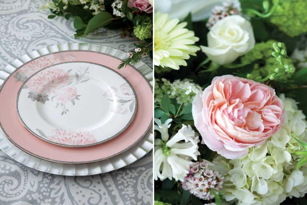 Elegant Spring Tablescape