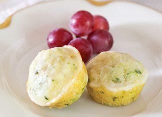 Lemon Zucchini Muffins