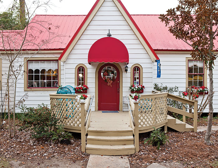 Vianne's Tea House in Mandeville, Louisiana