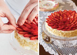 How-to: Strawberry-Macadamia Flourless Torte