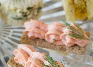 Tea sandwiches archives page 3 of 9 teatime magazine for Salmon mousse canape