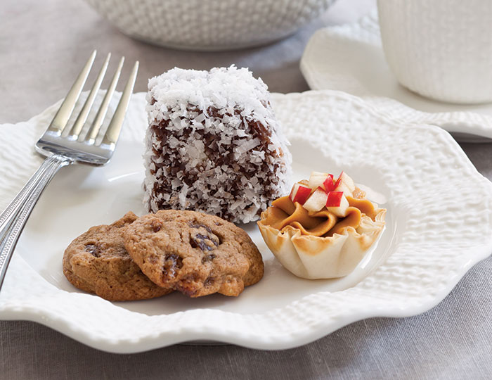 Date and Walnut Spice Cookies