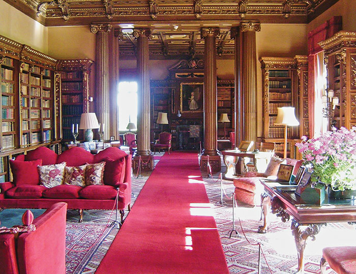 The Library, Highclere Castle