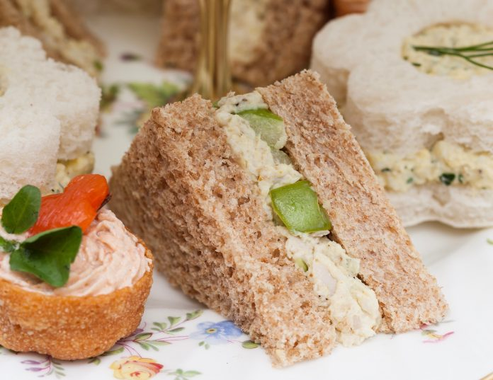 Curried Chicken Salad Sandwiches