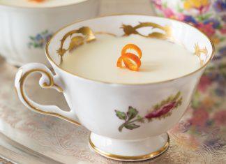 Vanilla-Tangerine Panna Cottas