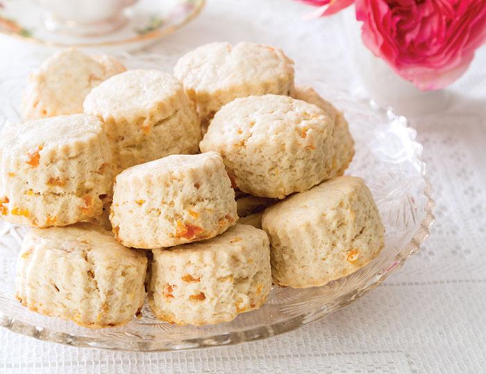 Apricot Cream Scones favorite summer scones
