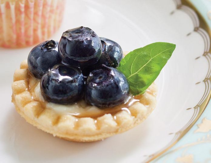 Blueberry-Basil Tartlets
