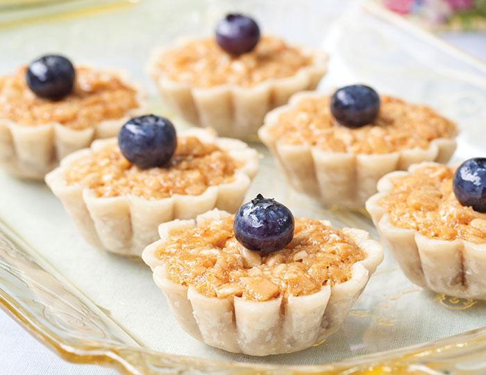 Honey Almond Tartlets