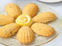 Honey Tarragon Madeleines