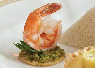 Shrimp-Tapenade Canapés