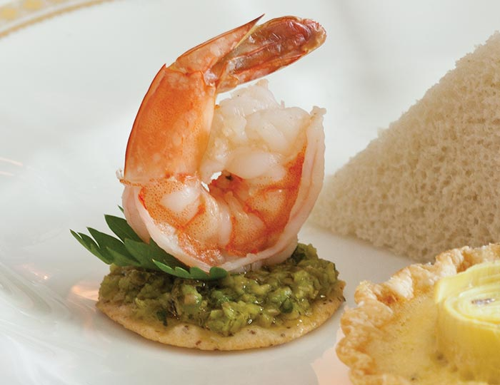 Shrimp tapenade canap s teatime magazine for Canape spread