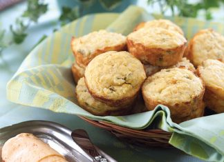 Green Chile Muffins