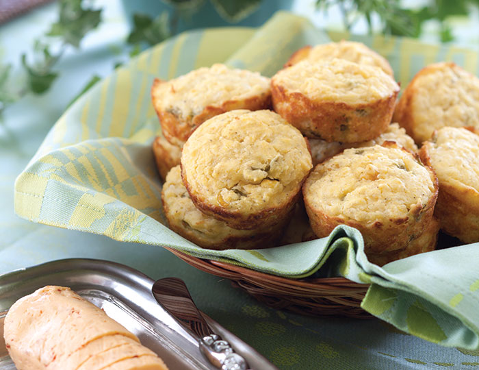Green Chile Muffins Father's Day Tea