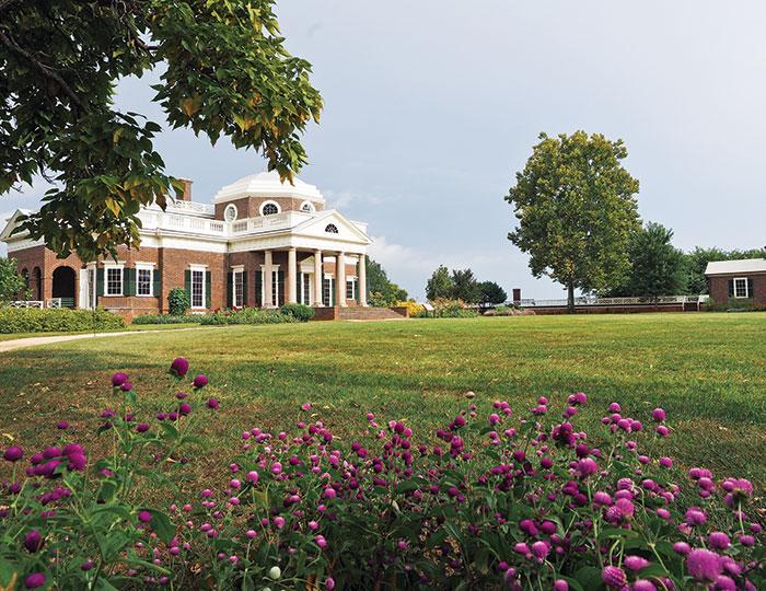 The lawn at Monticello