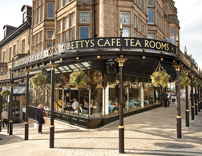 Bettys Cafe Tea Rooms in Yorkshire
