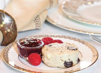Chocolate-Feta Scones