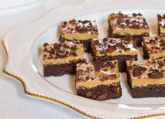Decadent Chocolate-Peanut Butter Brownies